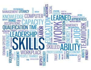 SKILLS Tag Cloud (performance talent personal development goals)